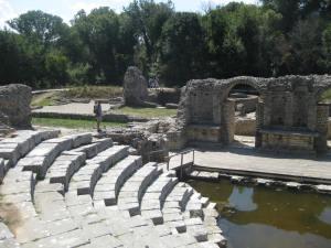im antiken Butrinti