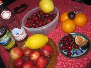 So köstliches Obst kann man in Albanien überall kaufen