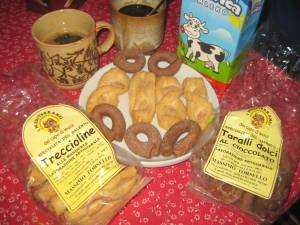 Köstliches Gebäck aus Leuca