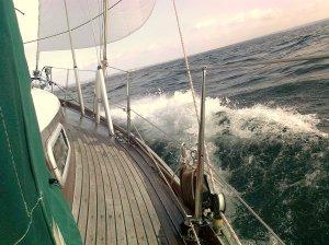 Wellen wie am Mittelmeer