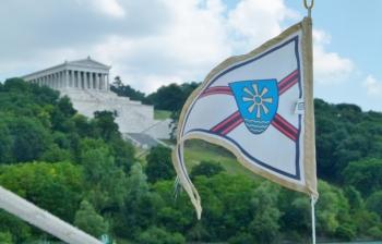 Hat schon mal eine SMCF Fahne auf der Donau geweht