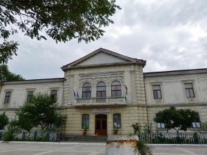 Das ehemalige Gebäude der Donaukomission