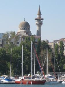 Der Muezzin ruft Allah akbar