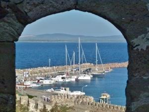 Bozcaada, der Hafen