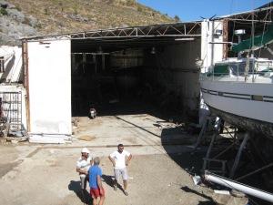 Bootshalle f. EOS und Gerhard