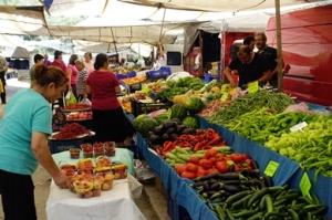 Auf dem Markt in Bozburun 3