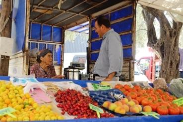 Auf dem Markt in Bozburun 4