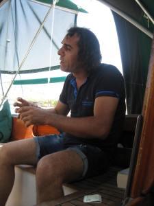 Tunc, der Motorfachmann in Bozburun