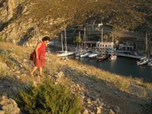Die Abendwanderung Kalymnos Felsklamm Vathi