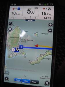 Seekarte v.GPS