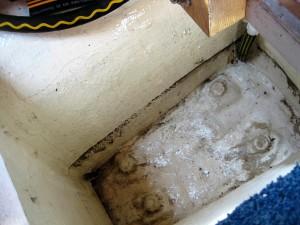 Bilgeputz nach 15 cm Wasser im Schiff (2)