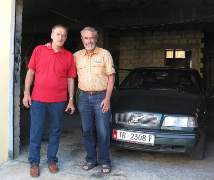 Gjergjin inj Tirana m.d.Volvo