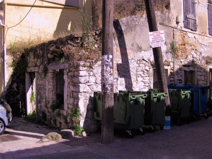 Korfu,Stadthafen-Verfall-pittoresk