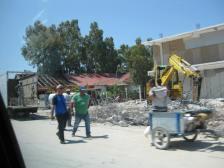 Korruption Abriß der ohne Kommission erbauten Häuser (5)