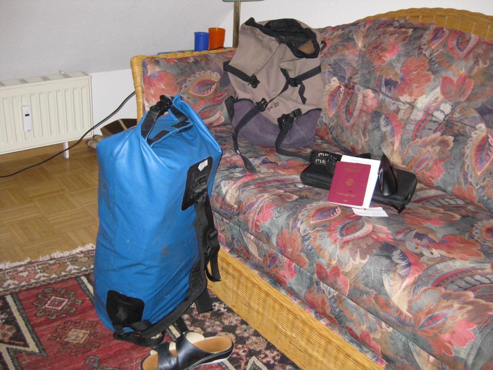 rucksack 1 woche