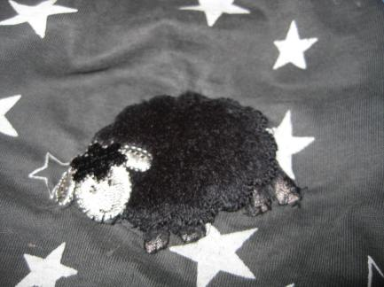Schaf auf Hosenknie (1)