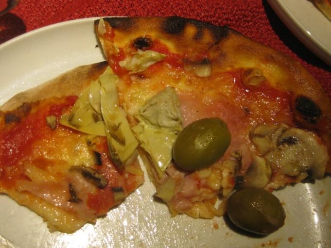 Gallipoli Pizza Capricciosa piccola