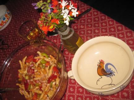 Gallipoli,Fussili-Salat