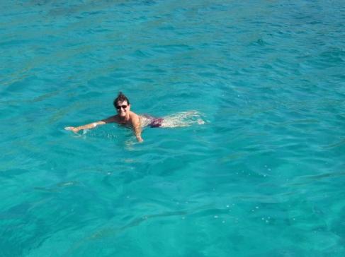 Im klaren Wasser