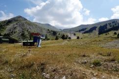 Skilift auf dem Peloponnes