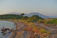 Strand auf dem Inselchen