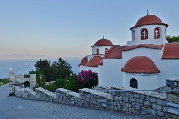 Das Kloster über Kalymnosos