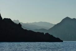 Korsikas Gebirge