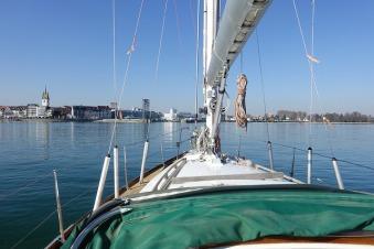 Erste Seefahrt nach der Werft