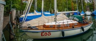 Eos im Hafen, schön...