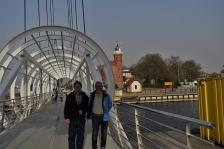 Die Drehbrücke von Ustka