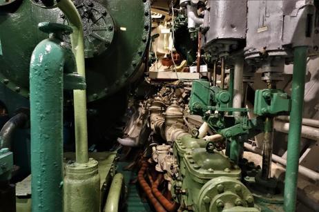 Dampfmaschine des Museumsschiffes (Copy)