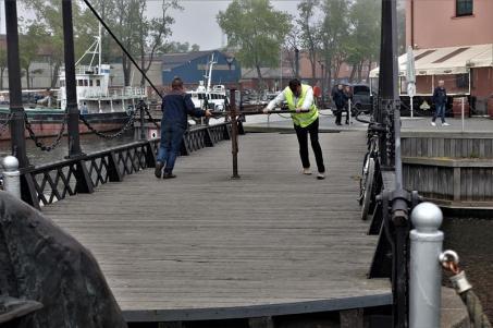 Klaipeda, die Hafenbrücke (Copy)