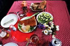 Abendessen mit geräuchertem Lachs (Copy)