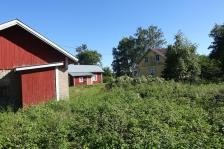 Alte Häuser auf der Insel Kinnaskeri (Copy)