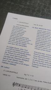 Festgottesdienst, Bach, Mozart, Händel