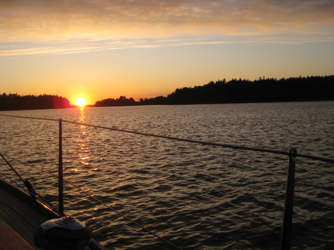 Sunset Usfärdshamn 25.6 (2)