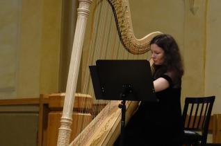 Vaasa. Harfe+Bass im Konzert (1)