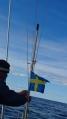 Gerdi, wir setzen die schwedische Flagge