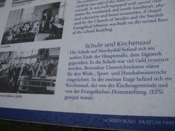 Geschichte v. Sägewerk u. Arbeiterhäuser Norrbyskär,6.7 (10) (Copy)