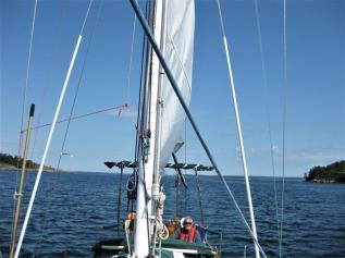 Segeln zu Saltpan Ankerbucht (7) (Copy)