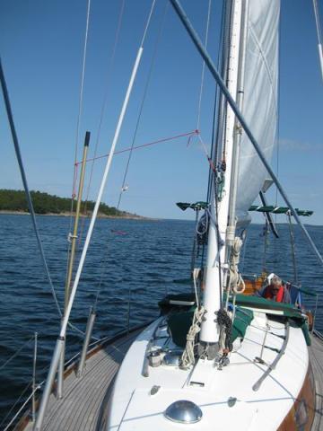 Segeln zu Saltpan Ankerbucht (8) (Copy)