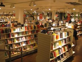 Umea, Buchhandlung