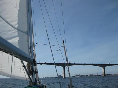 Am Morgen v.Öland bis Kalmar segeln (1) (Copy)