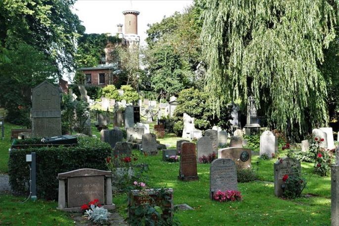Auch ein Friedhof gehört zur Stadt (Copy)