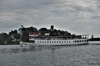 Schöne, alte Fahrgastschiffe in Stockholm (Copy)