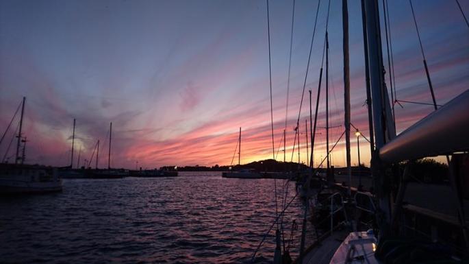 Aquarell am Abendhimmel, noch in Thiessow (2) (Copy)