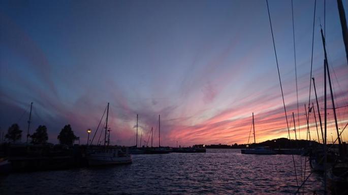 Aquarell am Abendhimmel, noch in Thiessow (3) (Copy)