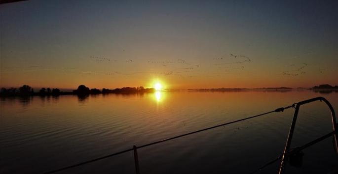 Sonnenaufgang 6.59 Uhr copy Glewitzer Wiek,Ankern (Copy) (1)