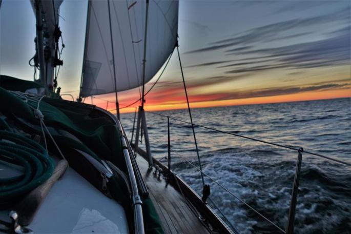 Sonnenuntergang auf See (Copy)